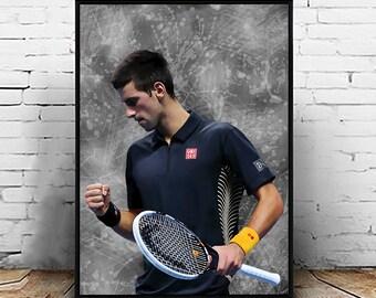 Andy Murray Cadeau Signé A4 Imprimé autographe Tennis Cadeaux Imprimé Photo