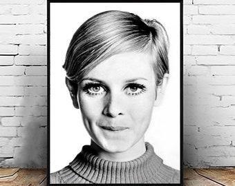 8 x 10 Twiggy Photo Print