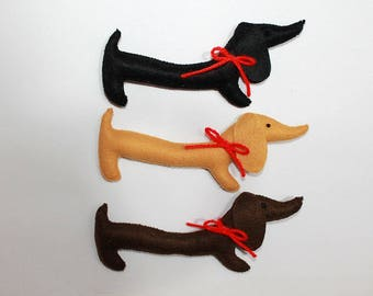 Sausage Dog Ornament Etsy