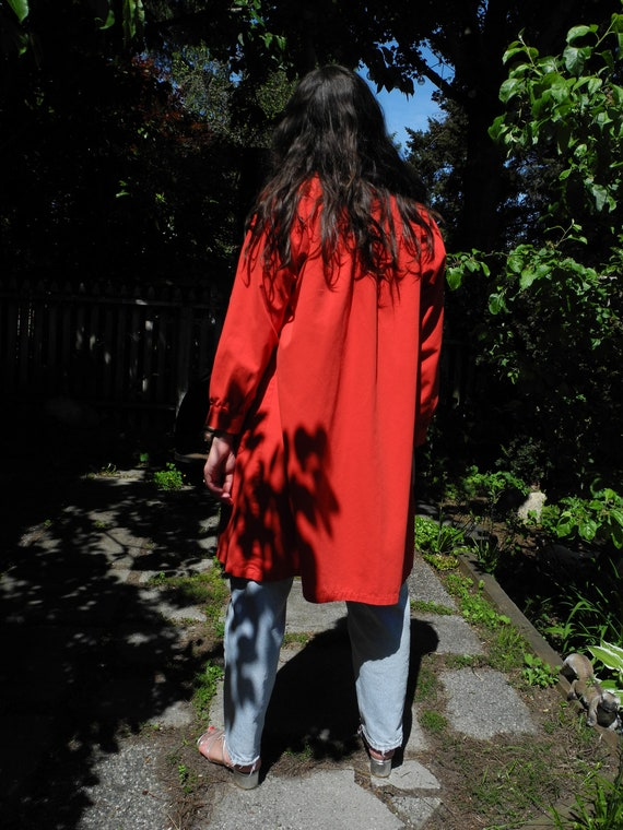 Vintage Red Smock | Small - image 6