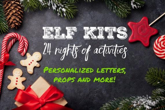 Elf Kits  Elf Props  Elf Activities Personalized Elf Letters