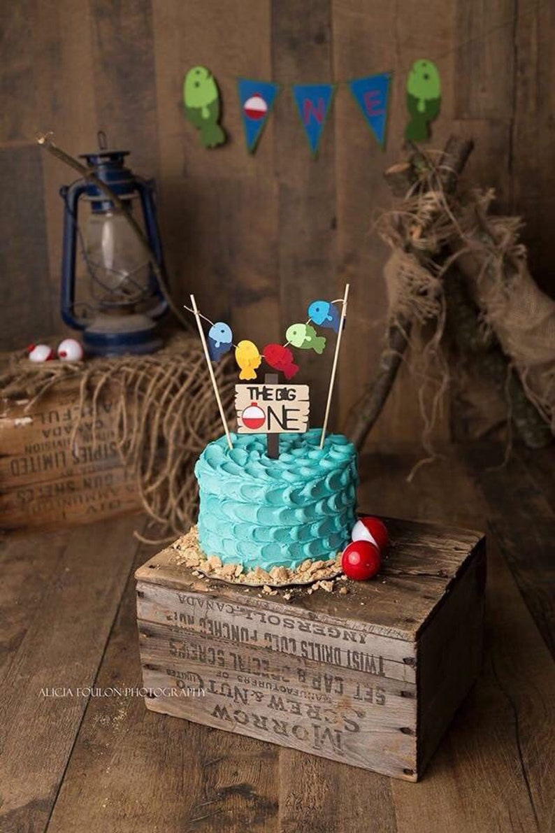 The Big One Cake Topper  First Birthday Theme Ideas