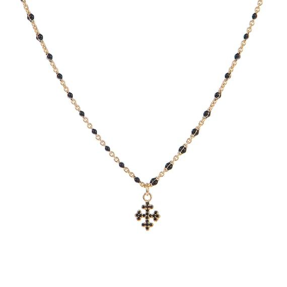 bague medaille croix zirco plaqué or réglable ref gigi