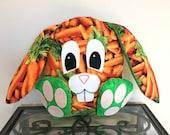 Easter gift, Carrot Bunny Handmade Stuffed Easter Bunny, Easter gift for kids, Easter, plush bunny, bunny rabbit, carrot gift, carrot lover
