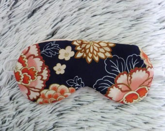 Sleeping mask satin flowers from Japan
