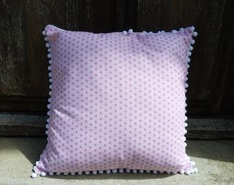Saki pillow cover pink 40 x 40