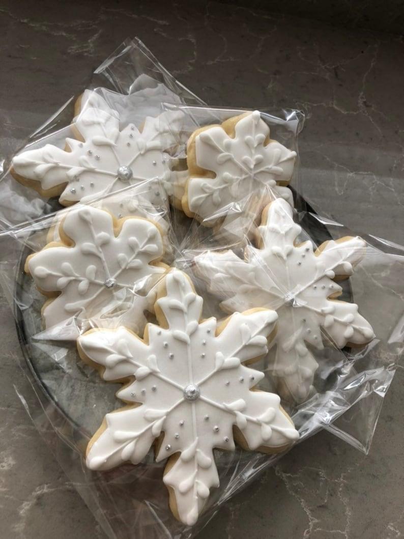 Assorted Snowflake Sugar Cookies