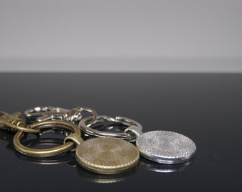 Custom Design Your Own Personalised Science Keychain - Silver or Bronze Finish - comes in gift box