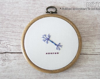 Neuron DIY Scientific Hand Embroidery Kit - Beginner Level