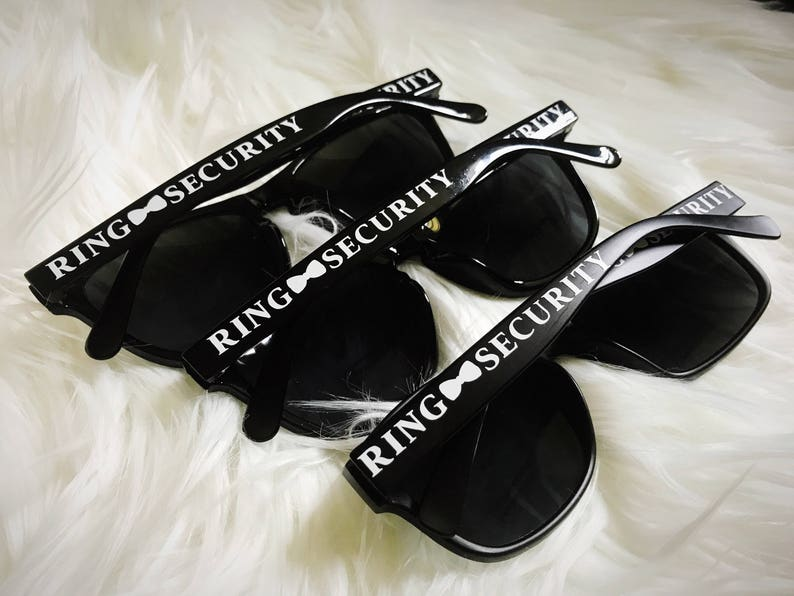 Ring Security Sunglasses/Ring Bearer Sunglasses/Will you be my image 0