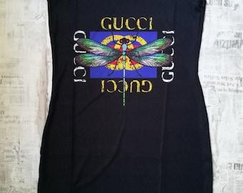 Gucci Women s mini dress top shirt T-shirt short sexy casual formal party  bodycon de590d2b9