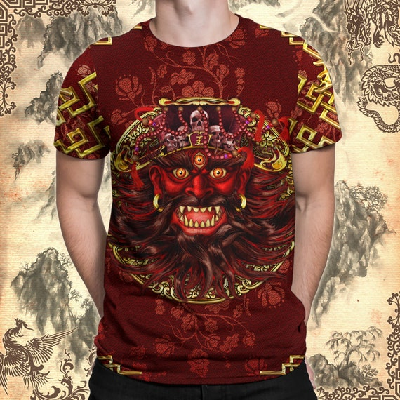 Hot Stuff Comic Devil HEATED 1-Sided Sublimated Big Print Poly T-Shirt
