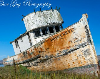 Photograph: Point Reyes Boat (5200 x 3300)
