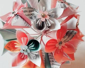 Origami Papier blumenstrauss