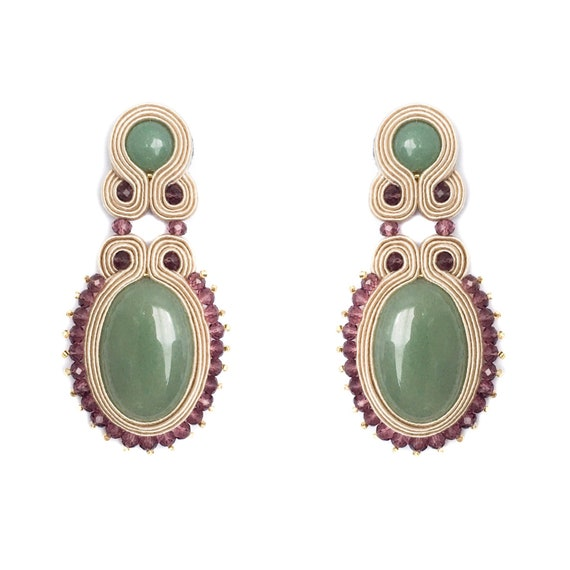 FamaRA Green Earrings