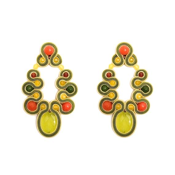 Yellow MENARA Earrings