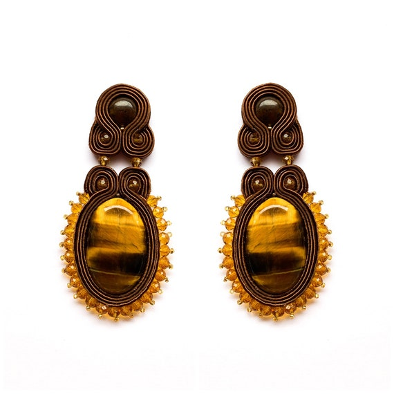 FamaRA Brown Earrings