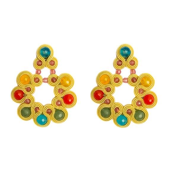 MulticolorED HARÍA Earrings
