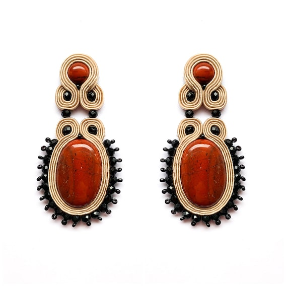 Red FAMARA Earrings