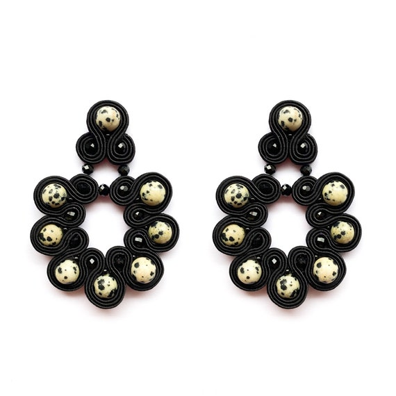 Earrings WOULD MAKE Black Dalmatian