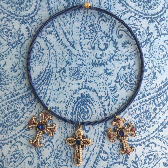Blue BAROQUE Necklace