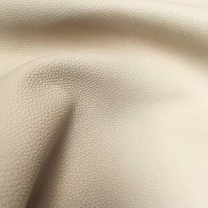 Cream Italian Buffalo Leather hides 2.30m2-2.70m2 2.5mm