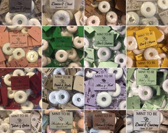 SALE!!! Buy 500 get 250 free!!Buy 300 get 120 free!! Buy 200 get 70 free!! Buy 100 get 50 free!! Mint To Be Wedding Favors LOTS of colors