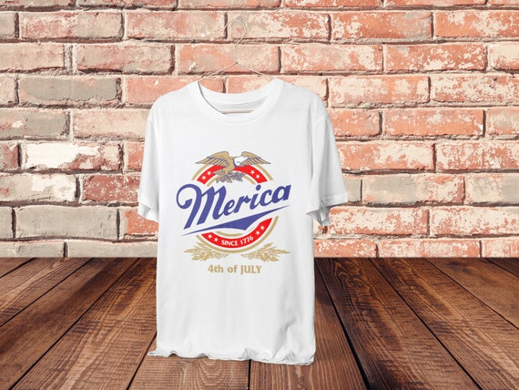 It S Merica Time Merica Since 1776 Shirt Funny July Etsy