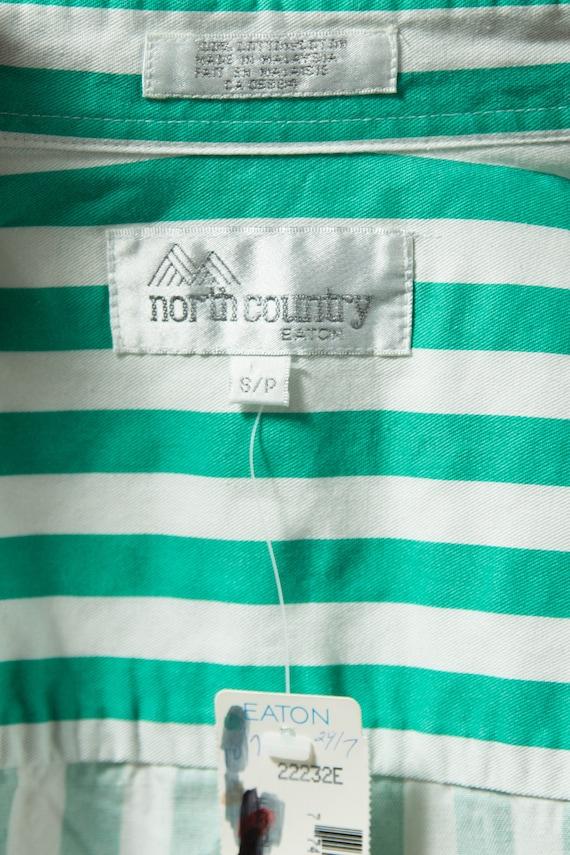 Vintage Striped Shirt / Mens Large Button up Casu… - image 6