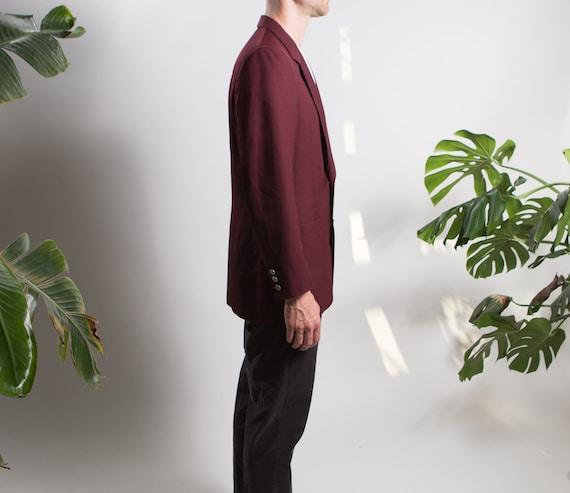 Men's Red Velvet Blazer - Medium Size Velvet Red … - image 4