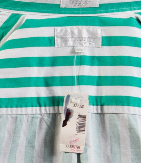 Vintage Striped Shirt / Mens Large Button up Casu… - image 5