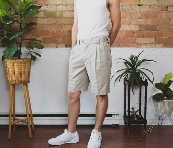 "Vintage Tilley Shorts - Size 34"" Beige Short Hiking Shorts - Tilley Endurables Khaki Safari Jungle Explorer Shorts - Indiana Jones Vibes"