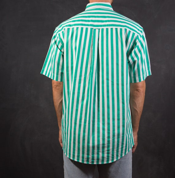 Vintage Striped Shirt / Mens Large Button up Casu… - image 3