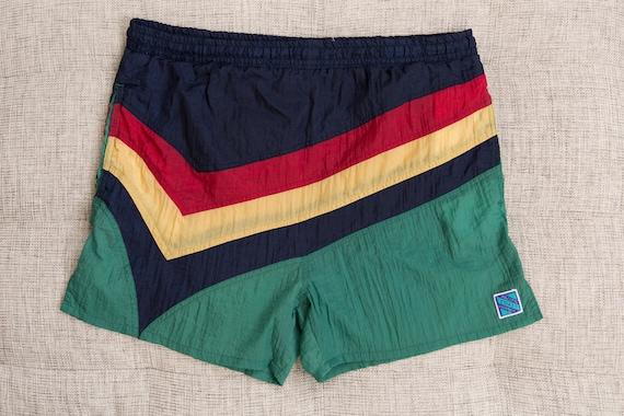 Vintage Swim Shorts - 90's x-Large Size Retro Men'