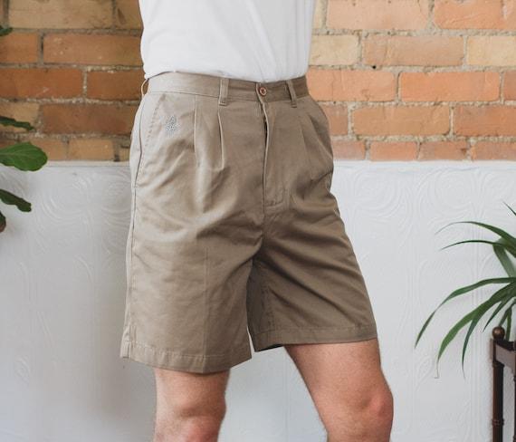 "Vintage Boy Scout Shorts - Size 30"" Beige Short Hiking Shorts - Tilley Endurables Khaki Safari Jungle Explorer Shorts - Indiana Jones Vibes"