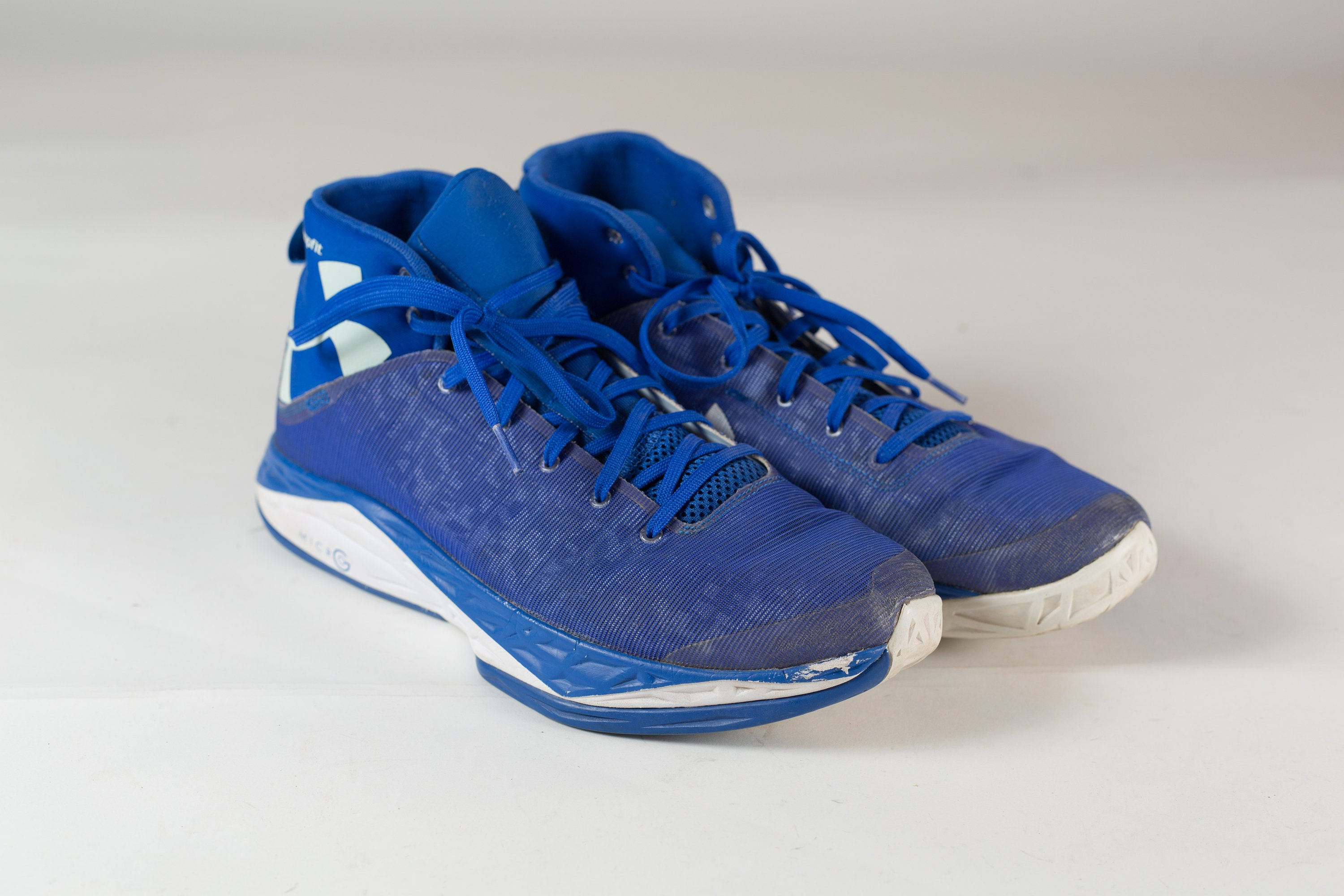 db419e006f Men's Blue Athletic Shoes - Blue Under Armour Basketball Sneaker ...