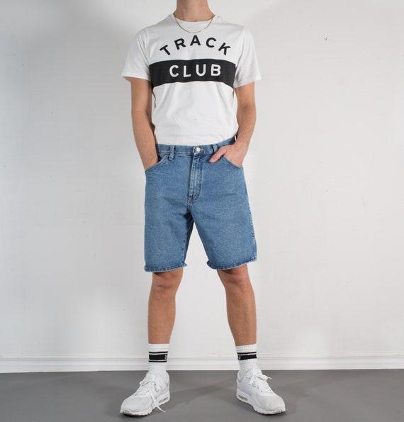 Vintage Denim Shorts - Men's 32W Wrangler Jean Shorts