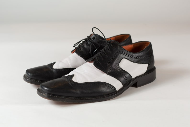 Black and White Shoes Black and White