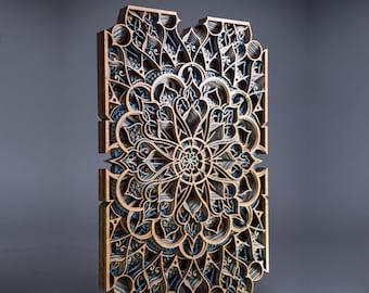 "Ansari ~24x16"" Wooden Wall Art"
