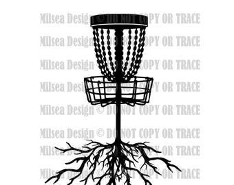 b4a61f06 Disc Golf Roots,Disc Golf, Disc Golf SVG, Svg, DXF, Eps, Dxf, Png, Cricut,  Silhouette