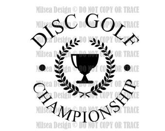 Disc Golf Silhouette Etsy