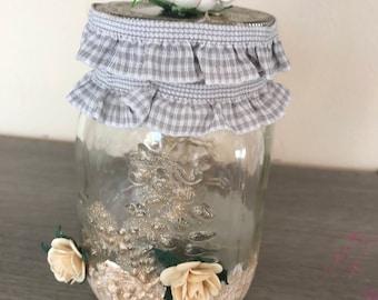 Jar with led light