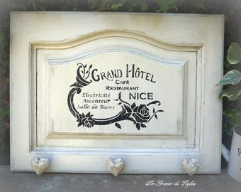 "Coat rack country chic ""Grand Hotel de Nice"""
