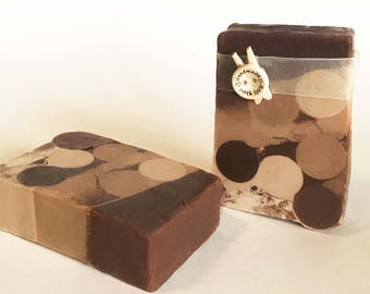 Smores, Chocolate Soap - Handmade Soap, Natural Soap, Homemade Soap, All Natural, Vegan Soap, Bath and Beauty, Soap, Organic Soap, gift