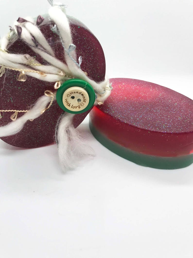 Christmas Soap - Handmade Soap, Natural Soap, Homemade Soap, All Natural,  Vegan Soap, Bath and Beauty, Soap, Organic Soap, pine scented soap