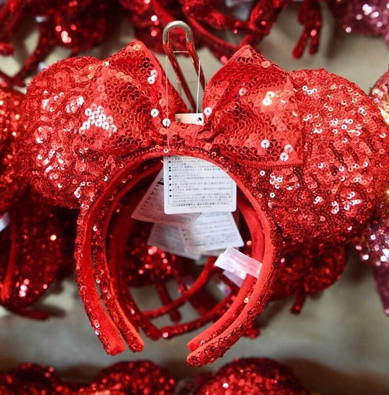 Christmas Minnie Ears 2019.Tokyo Disneyland Minnie Ears Red Scarlet Summer Exclusive