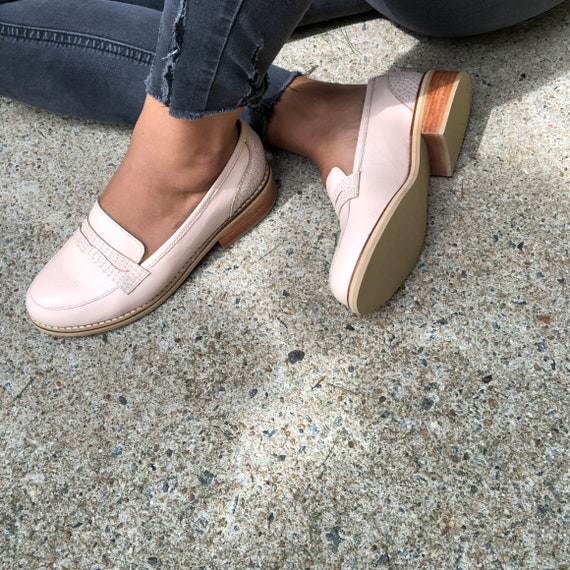 Layla Loafers Leather Shoes Loafers