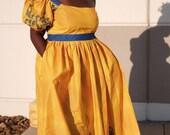 Ankara Dress African Clothing African Dress African Print Dress African Fashion Women Clothing African Fabric Maxi Dress Party Dress