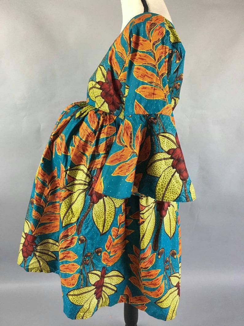 SALESAfrican print women   ankara print dress print bell sleeve African dress African fashion