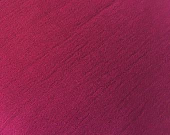 Wine rayon fabric vintage slightly crinkle crepe curtains dress